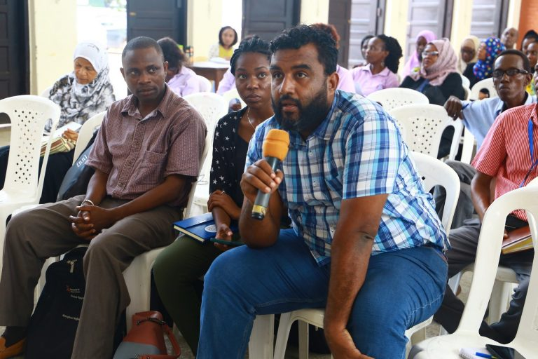 The taskforce on mental health continued to receive oral and written submissions from the public at Tononoka hall in Mombasa.