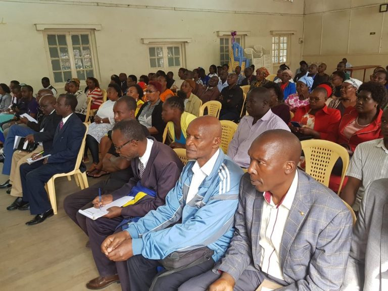 The Mental health taskforce held its public hearing sitting in Nakuru county, Old Town Hall, led by Dr Oscar Githua, a Forensic psychologist to address the growing concern of mental health Challenges in the country & also met county state officials
